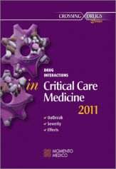 DRUG INTERACTIONS IN CRITICAL CARE MEDICINE ONSET - SEVERITY - EFFECTS